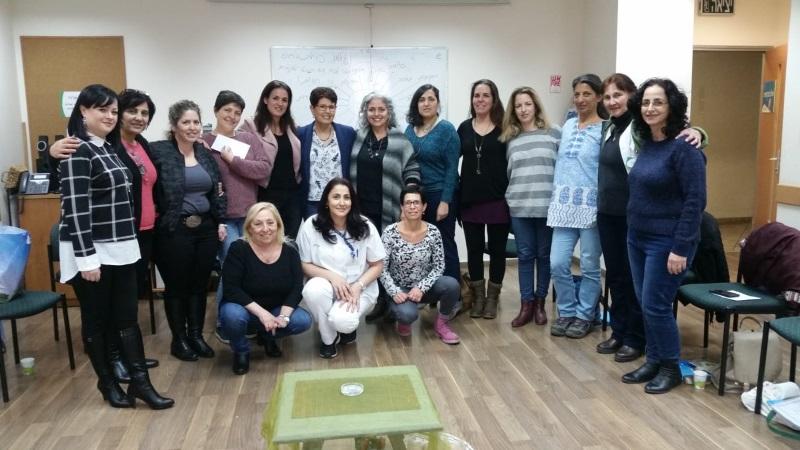 משתתפות הקורס של האחיות על ידע בקורס ליווי רוחני