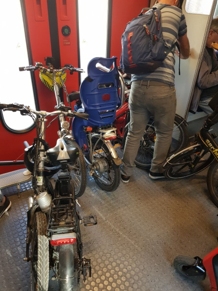 משרד התחבורה ורכבת ישראל מזמינים את ציבור הנוסעים להתייחס למדיניות האופניים החדשה