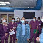 """פרופ' גמזו במרכז הרפואי לגליל: """"יש כאן מחסור בכוח אדם, אך יש עודף מסירות ורוח עשייה בצוות ומנהיגות יוצאת דופן"""""""