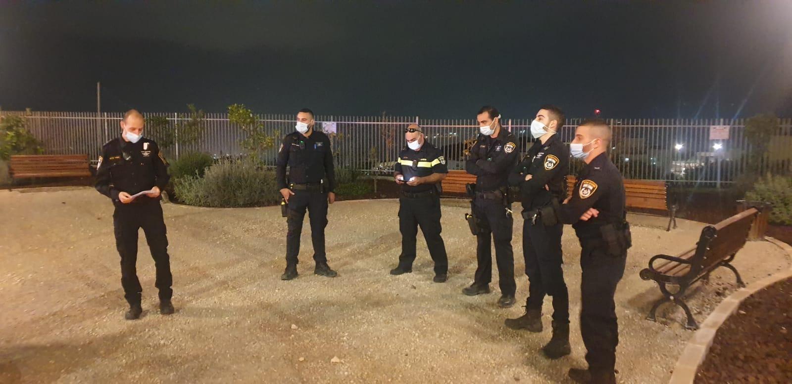 שוטרים בפעילות בגליל נוף