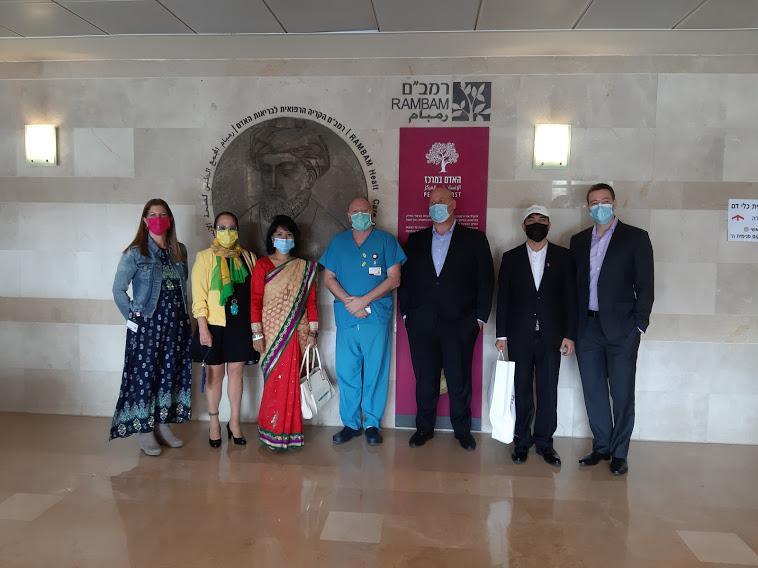 ביקור שגרירת נפאל וביקור שגריר שוודיה