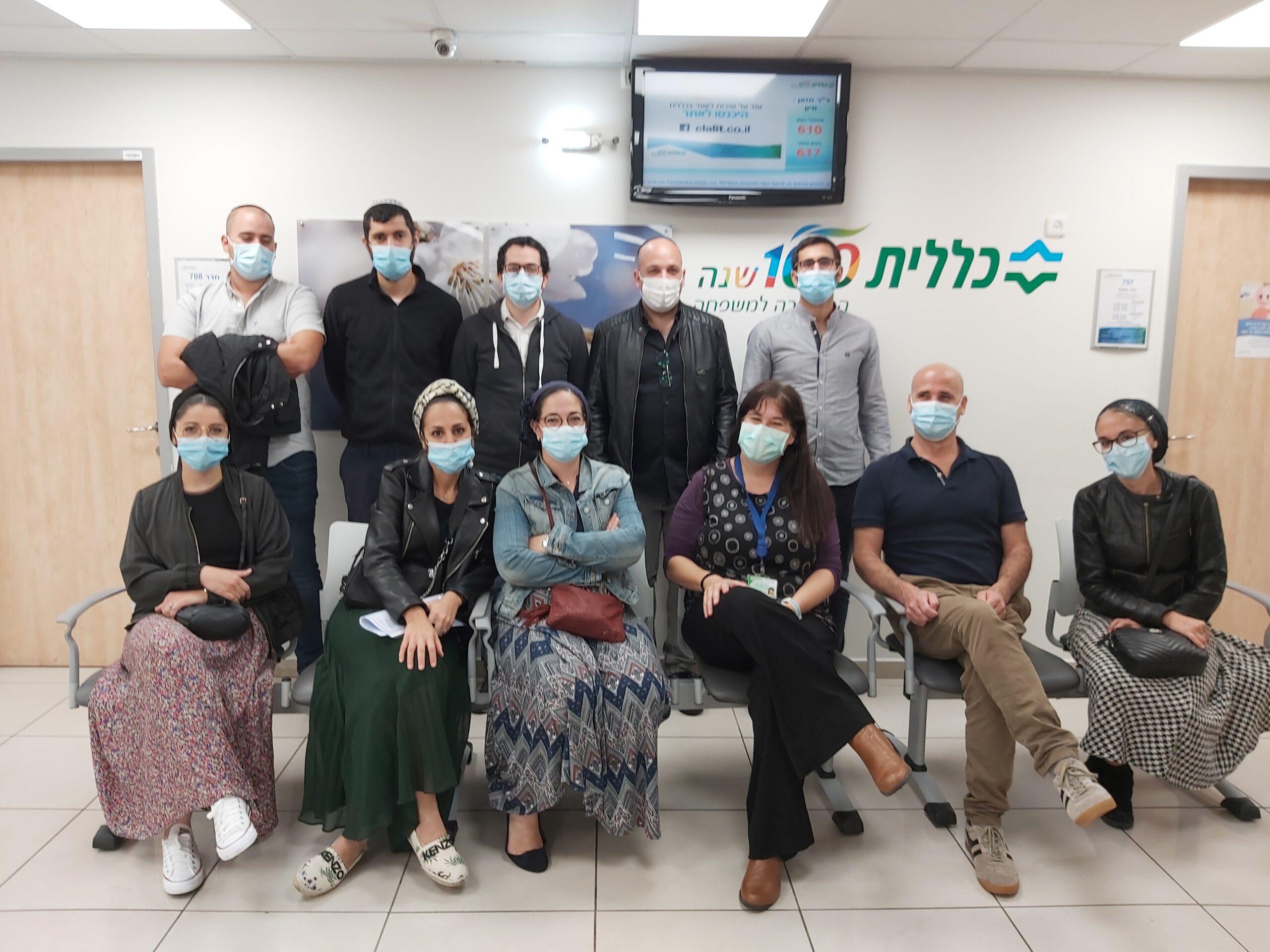 מפגש עם צוות רפואי עולים מצרפת