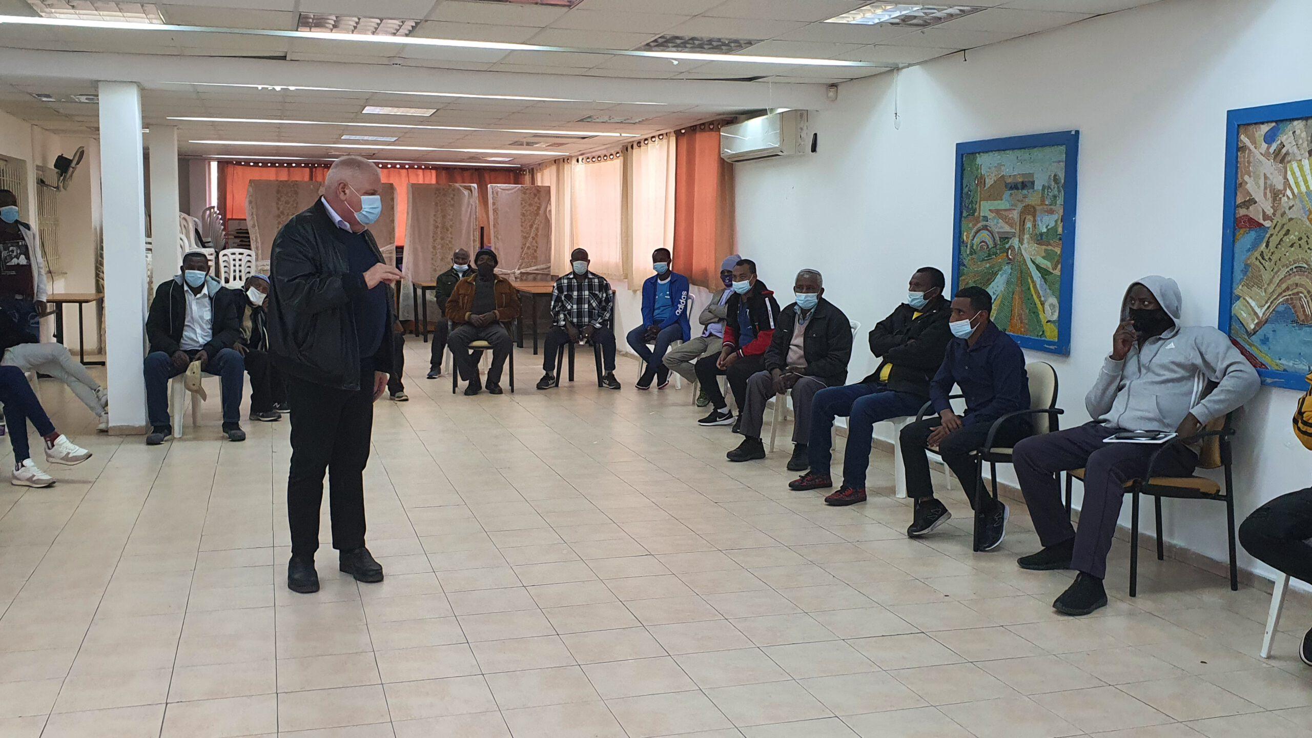 ראש העיר פלוט לעולי אתיופיה: בואו לנוף הגליל