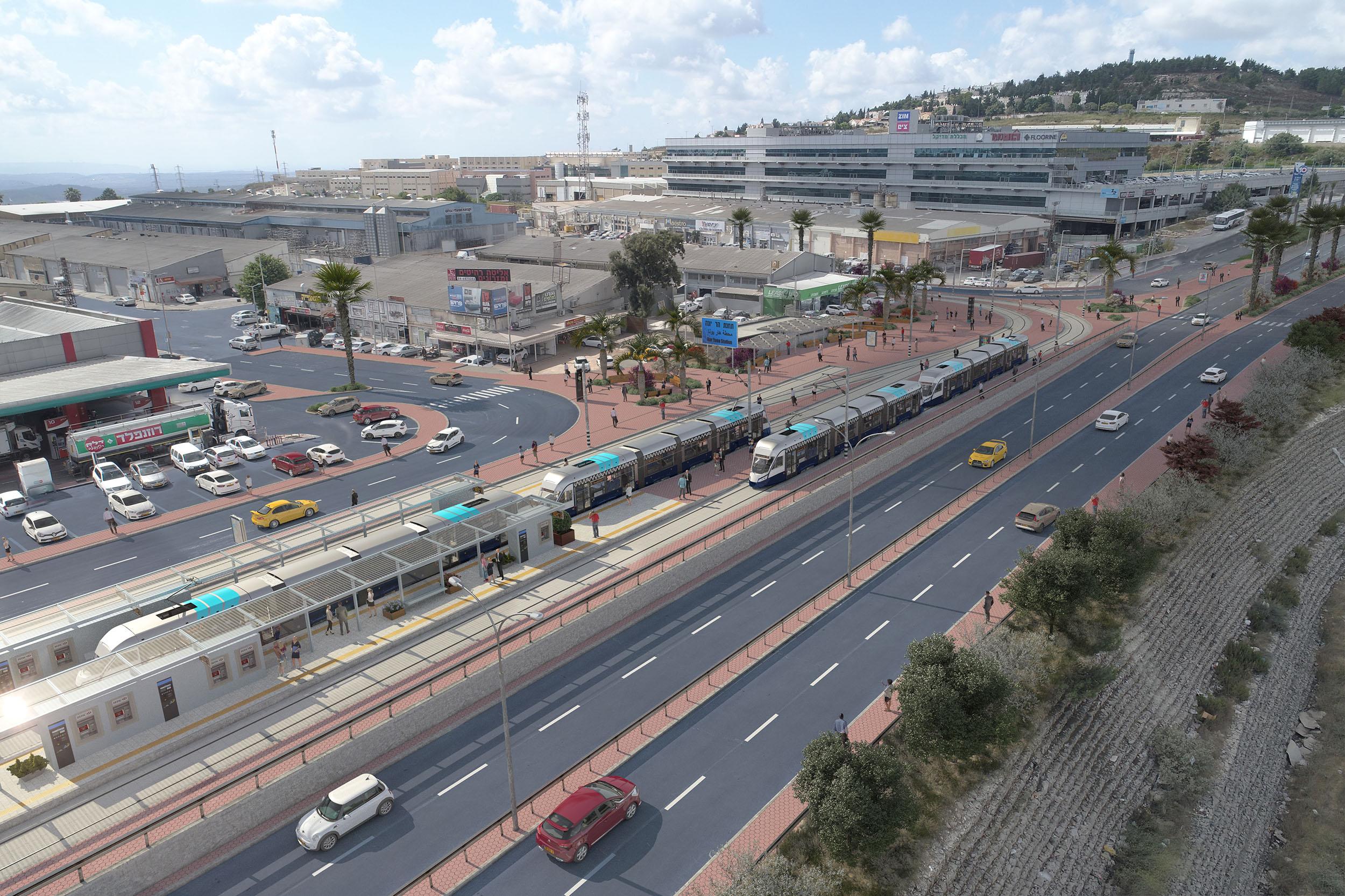 יריית הפתיחה לעבודות הקמת הרכבת הקלה מנוף הגליל לחיפה: 15 בדצמבר 2020