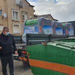 עיריית נוף הגליל הציבה עוד 150 פחים חדשים מונחי קרקע