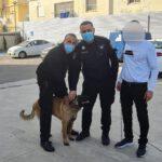שוטרי משטרת ישראל הפועלים במג'ד אל כרום החזירו לבעלים את הכלב שנגנב ממנו היום. החשוד בגניבת הכלב נעצר.