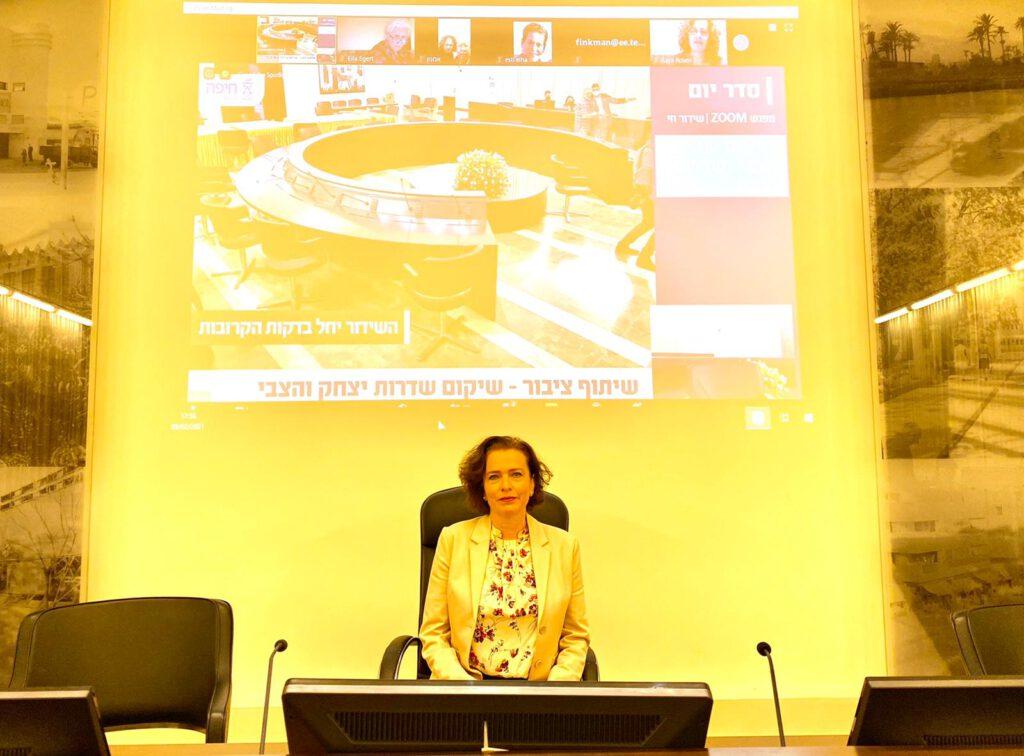 תכנית שיקום שדרות יצחק ושדרות הצבי הוצגה אמש במפגש שיתוף ציבור והועלתה לאתר תובנות להמשך עיון והערות הציבור