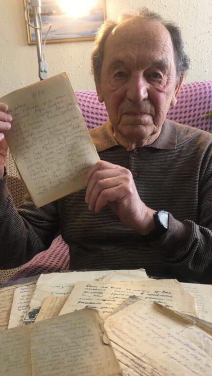 אחרי 80 שנה: עשרות מכתבים שכתבלוחם בחזית המלחמה נגד הנאצים נתרמו למוזיאון השואה בנוף הגליל.