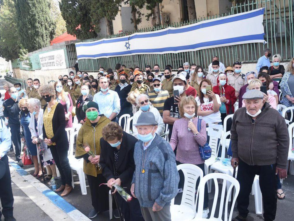 אירועי יום הזיכרון לשואה ולגבורה בחיפה