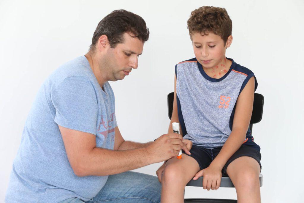 מגן דוד אדום יקיים ביום שישי יום הסברה ארצי בנושא אלרגיה ודרכי טיפול