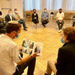 לרגל ציון תרומת הכליה ה-1,000 בישראל:<br>מפגש תורמים חיפאיים נערך בבניין היכל העירייה