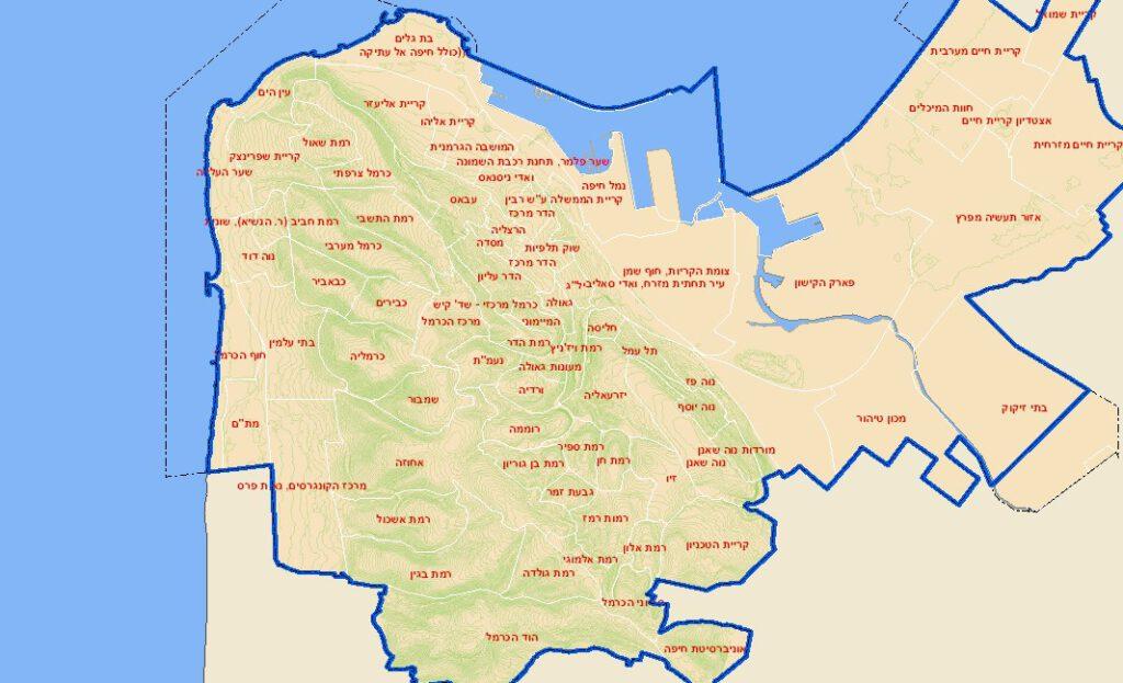 """לראשונה הונגשה שכבת """"התחדשות עירונית"""" במערכת המידע הגיאוגלראשונה הונגשה שכבת """"התחדשות עירונית"""" במערכת המידע הגיאוגרפית של עיריית חיפהרפית של עיריית חיפה"""
