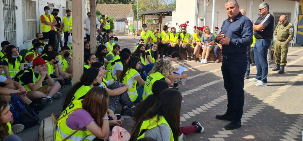 נהריה: תרגיל הפעלת בני נוער בחירום התקיים בעיר