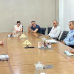 ראש עיריית חיפה, עינת קליש רותם, סיימה לפני זמן קצר פגישת עבודה עם פיקוד משטרת חיפה.