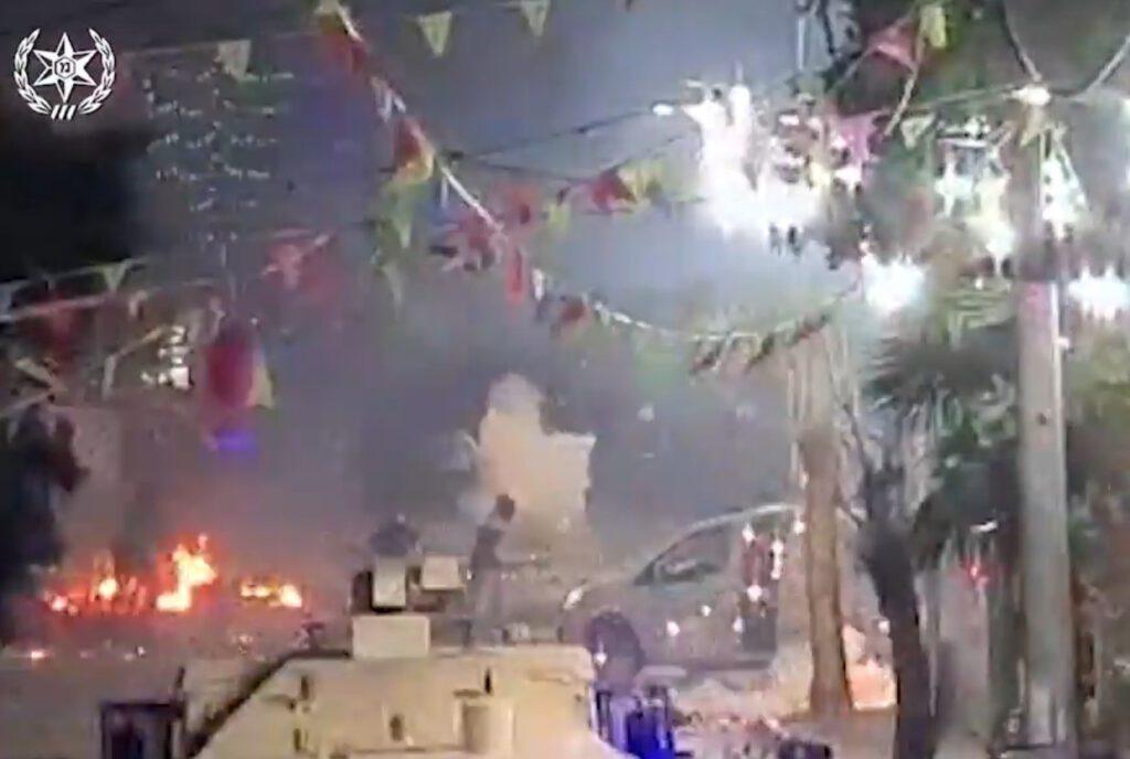 המשטרה עצרה הלילה 36 חשודים בהפגנות האלימות שאירעו אמש והלילה בג'סר א זרקא, חדרה ו-ואדי ערה