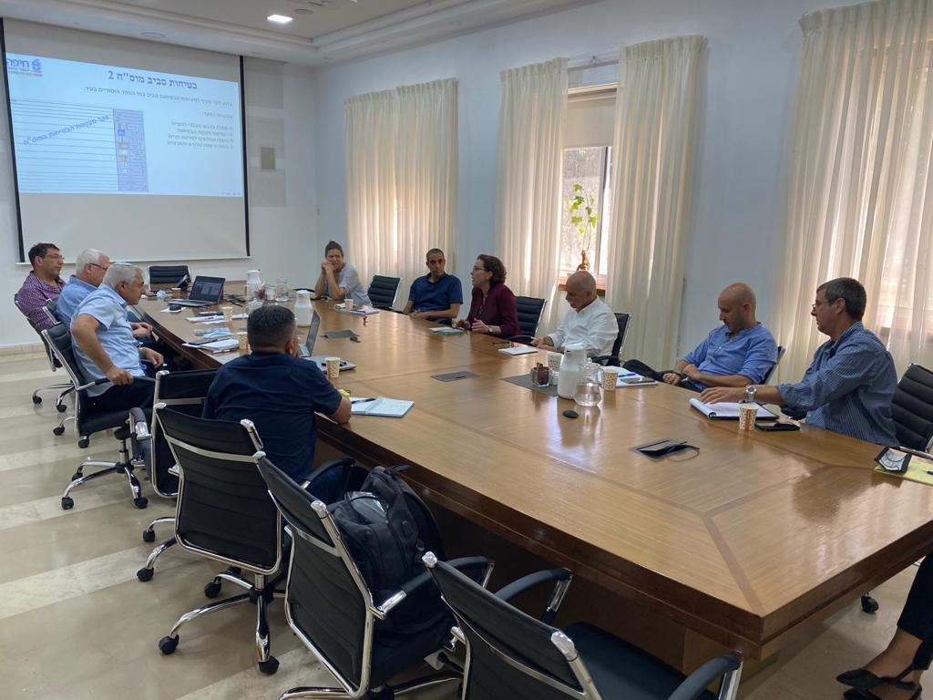 """ראשי הרלב""""ד שיבחו את פעולות עיריית חיפה בתחומי הבטיחות בדרכים וסיכמו על שורה של צעדים נוספים לקידום הבטיחות בדרכים"""