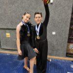 רקדני נוף הגליל גרפו את המקומות הראשונים בתחרות ארצית בריקודים ספורטיביים