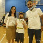 """שלושה תלמידי בית ספר """"ארבל"""" בנוף הגליל זכו בתחרות מחוזית בכתיבת סיפורים"""