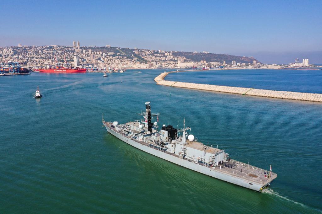 תמונות ווידאו רחפן מכניסת האוניה ובצמוד למבנה ההנהלה המנדטורי – צילום: גיאודרונס