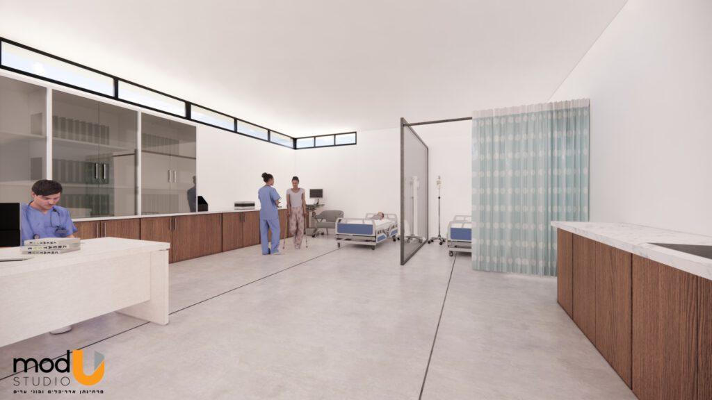 הקמת חדר מיון קדמי בנוף הגליל