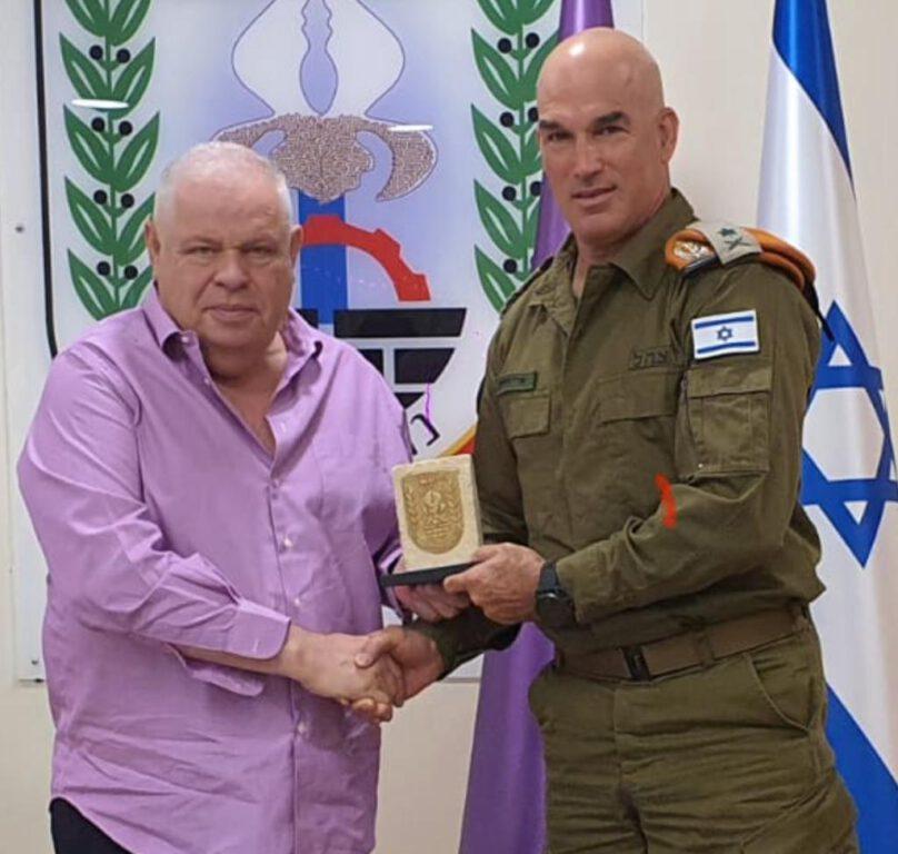 מפקד פיקוד העורף, אלוף אורי גורדין, ערך ביקור עבודה בנוף הגליל