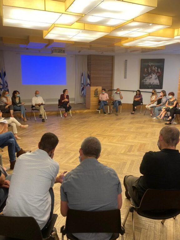 ישיבה התחדשות עירונית הדר חיפה