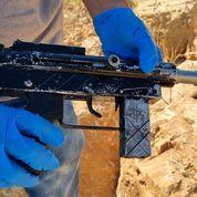 חיפוש נתפס אקדח מסוג F.N