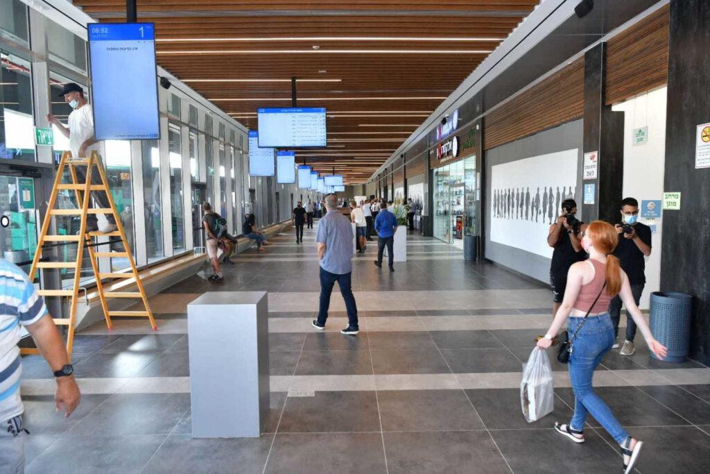מרכז תחבורתי חדש נפתח היום בעפולה