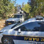 מפקחי אגף האכיפה העירוני קנסו אדם לאחר שנתפס משליך פסולת תעשייתית באיזור מפרץ חיפה