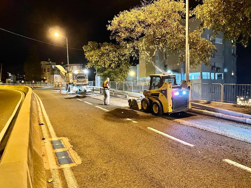 עבודות לשיקום כביש יד-לבנים